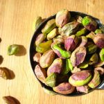 Akbari pistachio kernels flowery and green