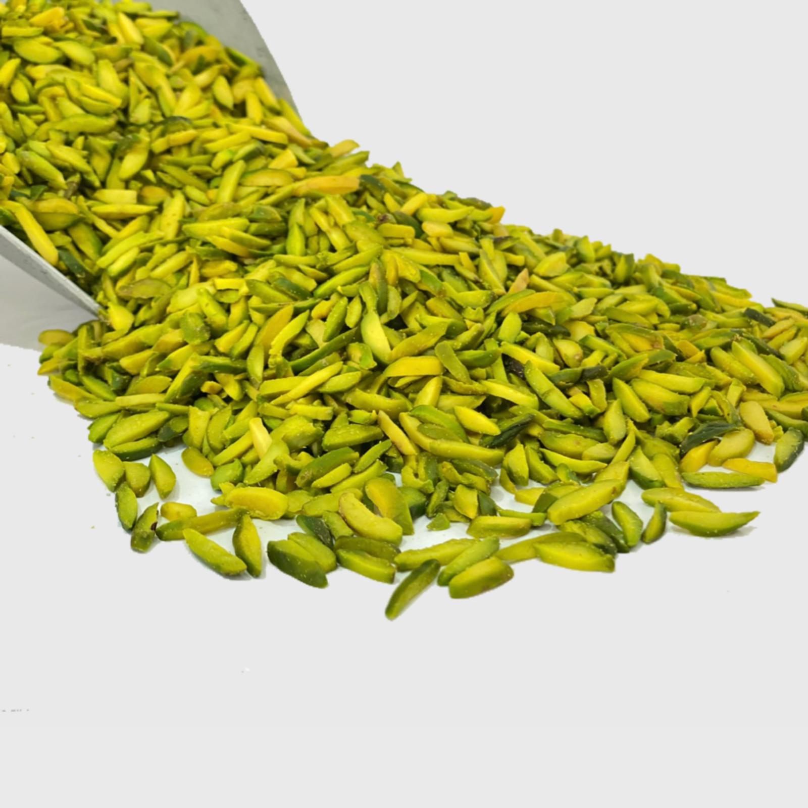 Iranian Green Pistachio Slice Factory